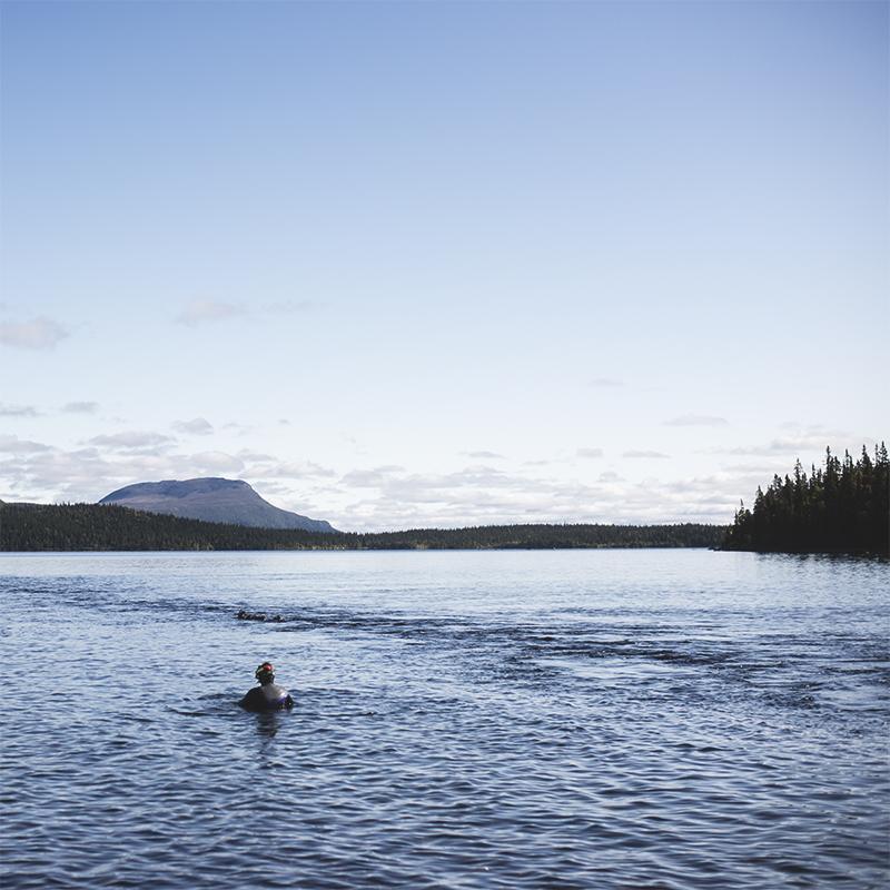 Saxnäs – vattenfall & fjällsnorkling