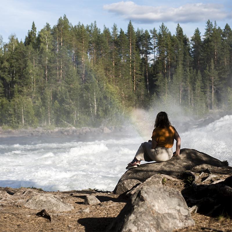 Storforsen i Norrbotten