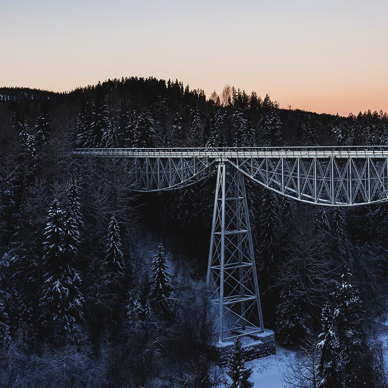 Tallbergsbroarna i Nordmalings kommun